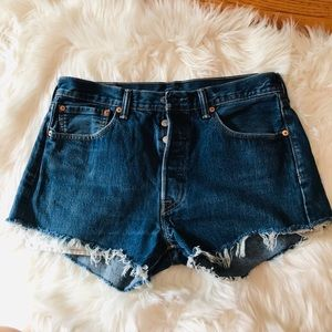 🌿 Levis 501 High Waisted Shorts🌿
